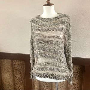 Staring at Stars Open Weave Knit Pullover Top